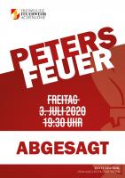 Petersfeuer 2020 – abgesagt!