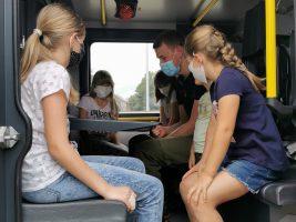 Ferienprogramm: ein Tag bei der Feuerwehr